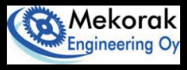 Mekorak Engineering Oy Logo